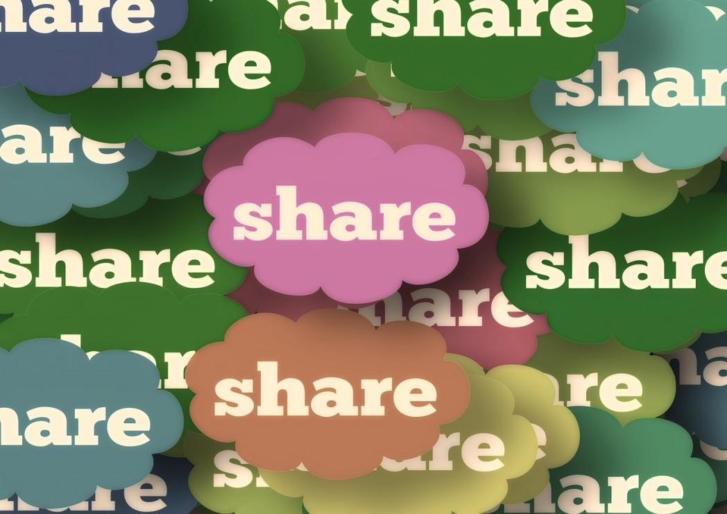 partage réseaux sociaux référencement naturel