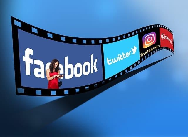 video application facebook instagram twitter