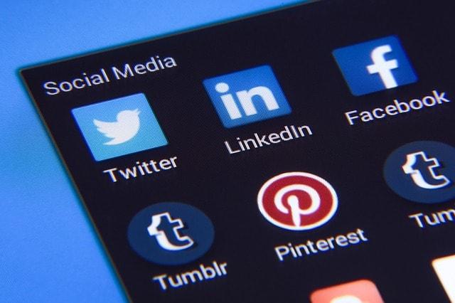 réseaux sociaux pinterest