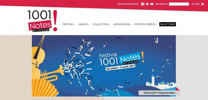 Festival 1001 notes