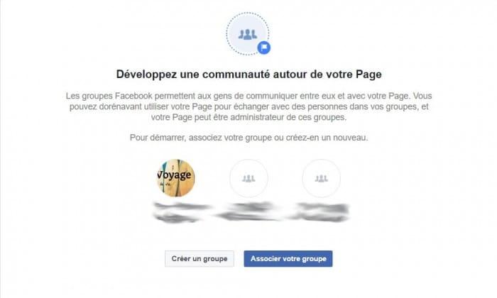 Associer un groupe facebook à une page facebook-min