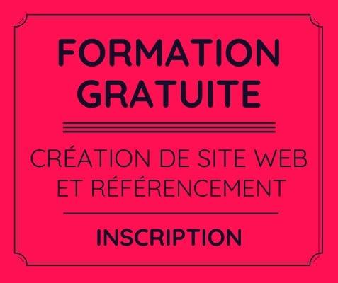 FORMATION GRATUITE en vidéo - création de site web wordpress et référencement