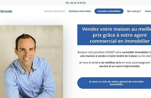 Immobilier Haute Gironde - Jonathan