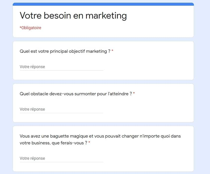 Google form persona marketing-min