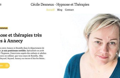 Cécile Desneux hypnose annecy