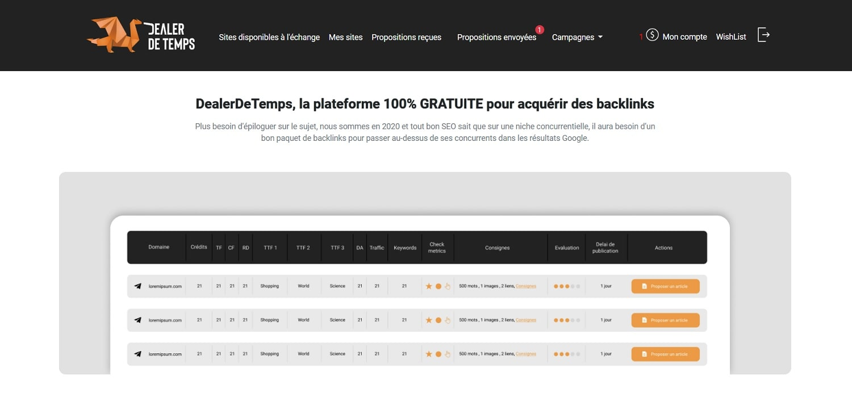 DealerDeTemps - outils backlinks gratuit-min