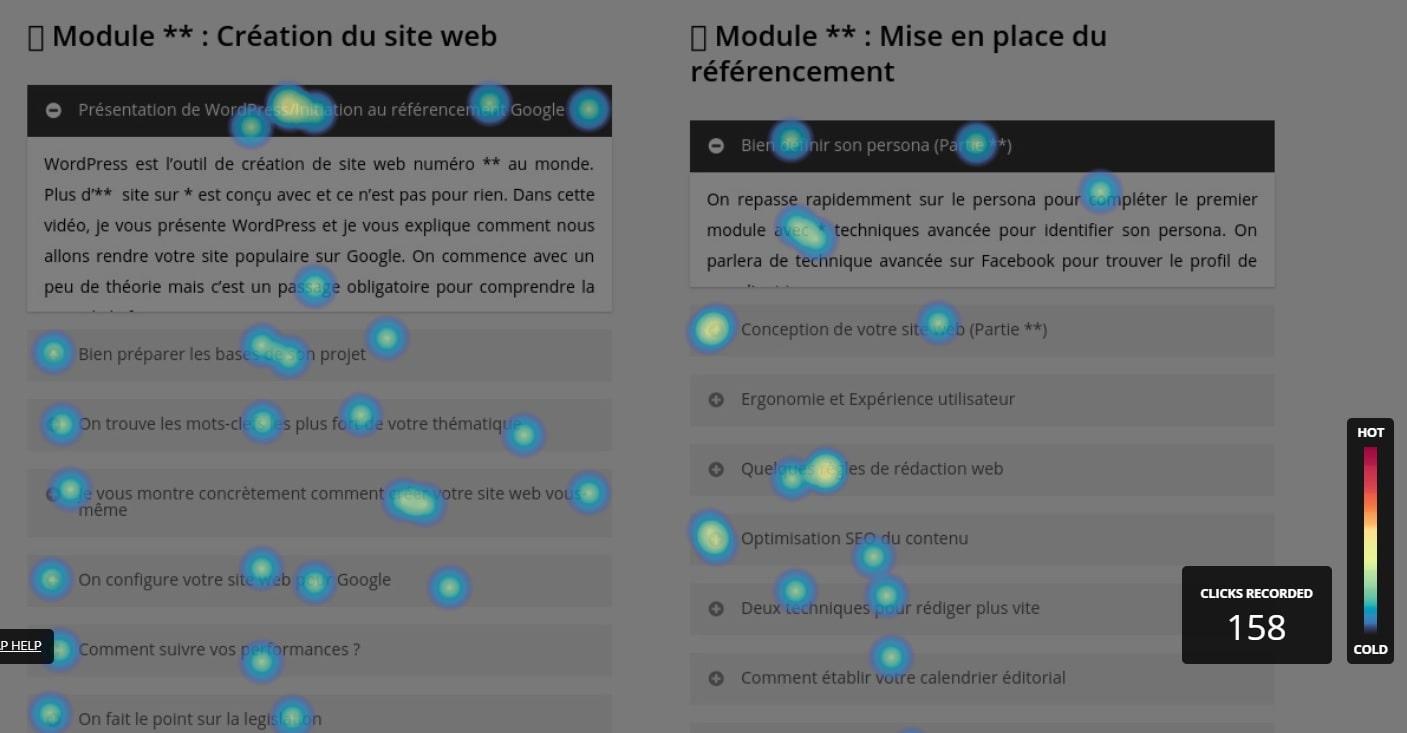 Heat Map pour controler l'expérience utilisateur-min