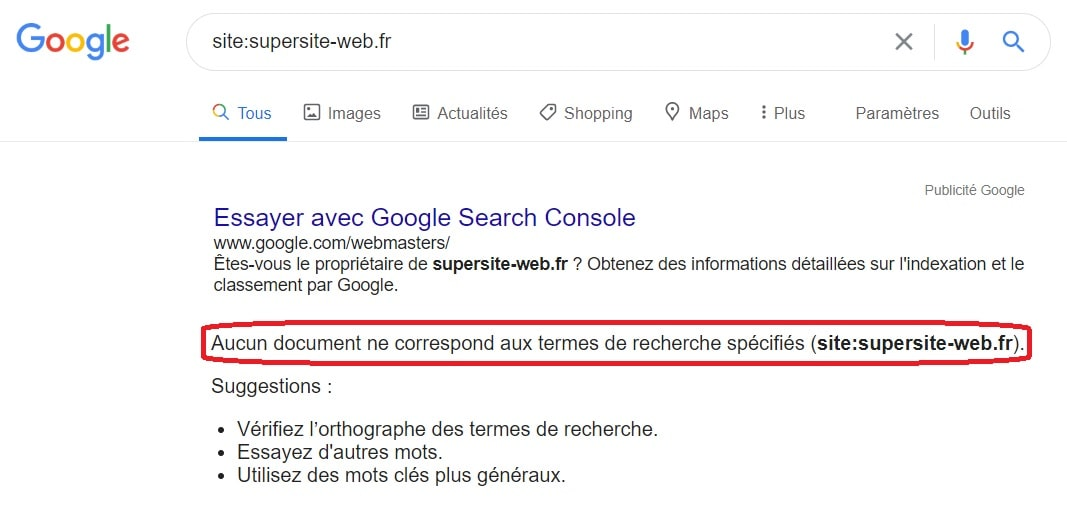 Test Indexation De Google Min